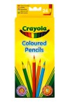 * CRAYOLA BOX 24 COLOURED PENCILS