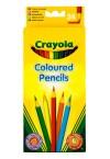 * CRAYOLA BOX 24 COLOURED PENCILS