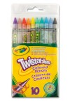 * CRAYOLA PACKET OF 10 TWISTABLES COLOUR PENCILS