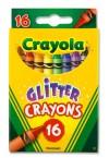 * CRAYOLA BOX 16 GLITTER CRAYONS