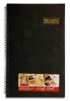 ICON 13x8 WIRO SCRAPBOOK BLACK PAGES 40 SHEETS