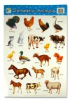 WALL CHART (50*75cm) - DOMESTIC ANIMALS