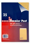 PACKET OF 25 C5 Peel & Seal ENVELOPES - MANILLA