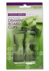 PREMIER DEPOT CARD 4 DRAWING BOARD CLIPS