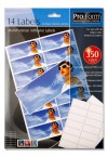 PRO:FORM 25 SHEETS - 14 LABELS 99x38mm