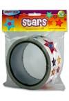 CRAFTY BITZ ROLL 750 STICKERS - STARS