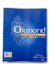 ORMOND PACKET OF 10 PVC COPY BOOK COVERS