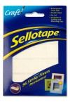 SELLOTAPE PACKET OF 56 STICKY FIXERS