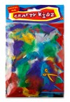 CRAFTY KIDZ EXOTIC FEATHERS 10g