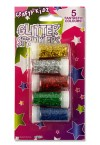 CRAFTY KIDZ CARD 5x3g GLITTER