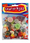 CRAFTY BITZ ASST CRAFT BUTTONS