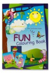 WOC 96pg FUN COLOURING BOOK