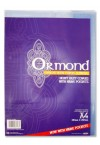 ORMOND A4 PACKET OF 5 COPY BOOK COVERS