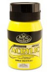 500ml ACRYLIC POTS - LEMON YELLOW