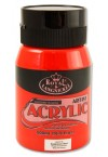 500ml ACRYLIC POTS - CADMIUM RED