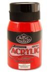 500ml ACRYLIC POTS - NAPTHOLENE CARMINE RED