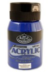 500ml ACRYLIC POTS - PTHALOCAYNINE BLUE