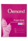 ORMOND 40pg No.15 PROJECT BOOK