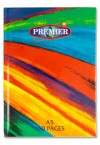RAINBOW A5 160pg HARDCOVER NOTEBOOK