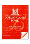 BROOKLAND BOND LETTER WRITING PAD 100 SHEET WHITE RULED