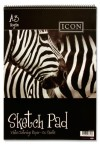 ICON A3 110gsm SPIRAL SKETCH PAD 30 SHEETS