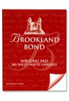 BROOKLAND BOND  LETTER WRITING PAD 100 SHEET WHITE UNRULED
