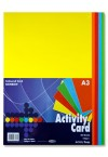 PREMIER A3 160gsm ACTIVITY CARD 50 SHEETS - RAINBOW