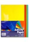 PREMIER A4 80gsm ACTIVITY PAPER 100 SHEETS - RAINBOW