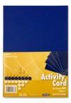 PREMIER A4 160gsm ACTIVITY CARD 50 SHEETS - COBALT