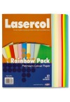 PREMIER A3 80gsm COLOUR PAPER 100 SHEETS - RAINBOW
