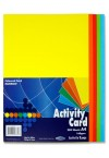 PREMIER A4 160gsm ACTIVITY CARD 250 SHEETS - RAINBOW