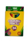 CRAYOLA PACKET OF 36 COLOURED PENCILS