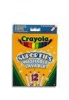 CRAYOLA PACKET OF 12 SUPERTIPS WASHABLE MARKERS