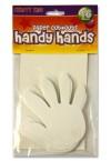 CRAFTY KIDZ PACKET OF 16 CUTOUTS - HANDS