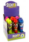 SCENTOS FUNNY FACES SCENTED MARKERS - BERRY