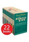 The Famous Five 22 Books Collection Box Set (RRP €180, SAVE €122)
